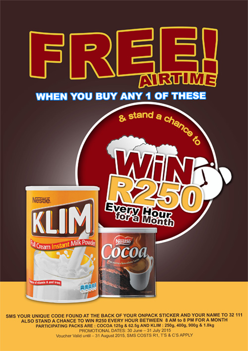 Nestlé KLIM and Cocoa Campaign Competition