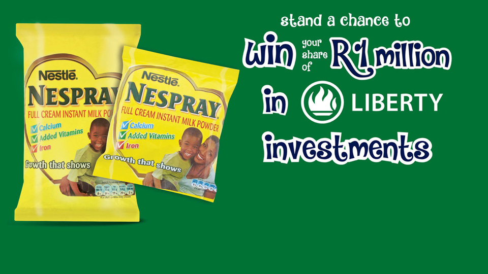 Nespray Win a Share of R 1 000 000