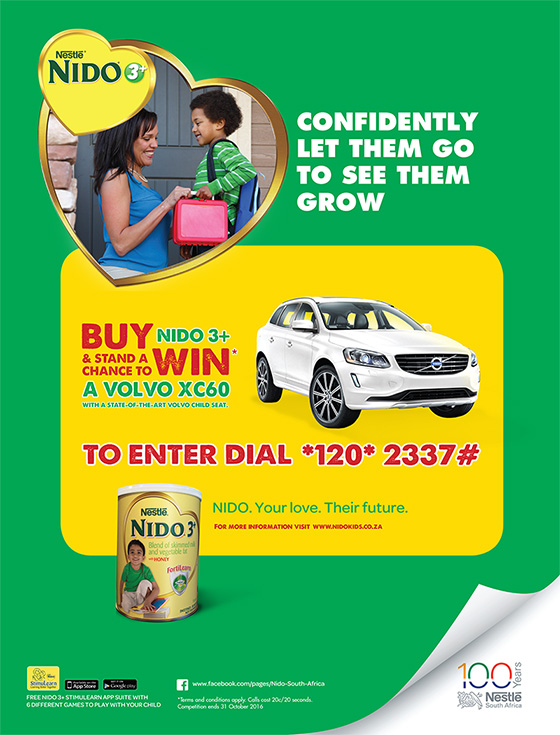 Nestlé NIDO 3+ Competition