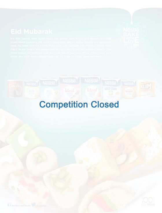Nestlé  Cook With Love Ramadan 2016 Competition