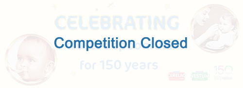 Nestlé Infant Cereals: 150 Years of Baby Cereals  Competition