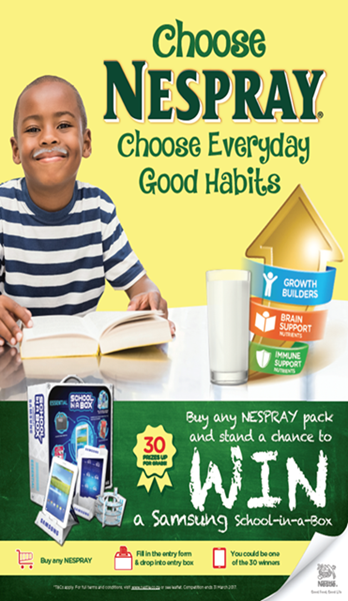 Nestlé NESPRAY Everyday Good Botswana Promotion