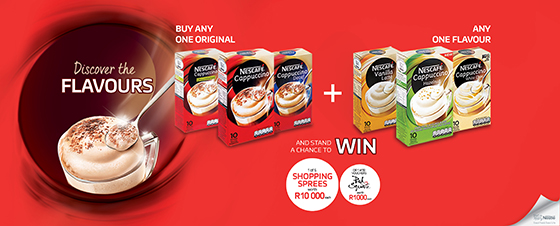 Nestlé Nescafe Cappuccino Discover the Flavours Competition