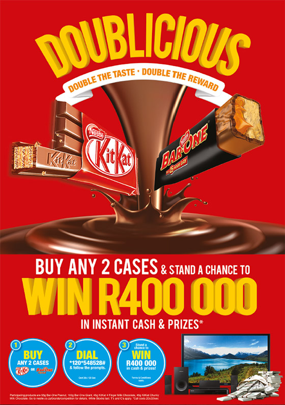 Nestlé KTIKAT BAR-ONE Doublicious Promo - Independent Wholesale Competition