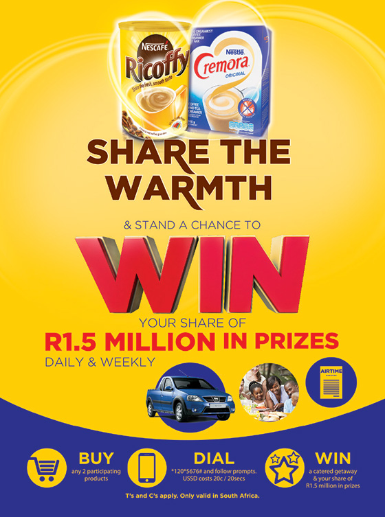 Nestlé Share the Warmth Competition
