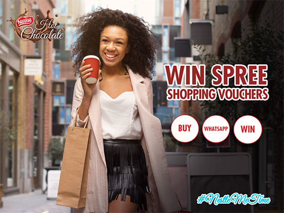 Nestlé Hot Chocolate 500 g – Spree Shopping Vouchers Competition
