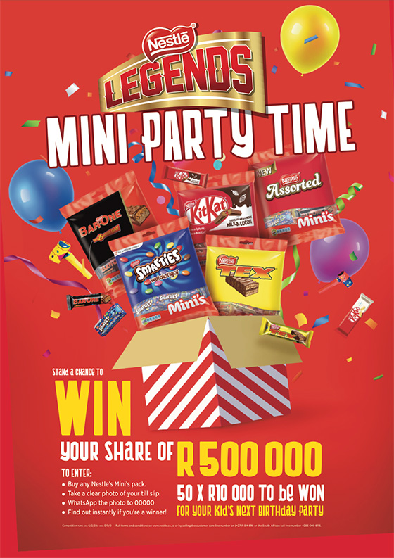 Nestlé Legends Minis Competition