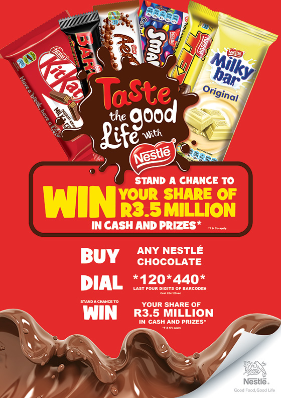 Taste the good life with Nestlé Competition