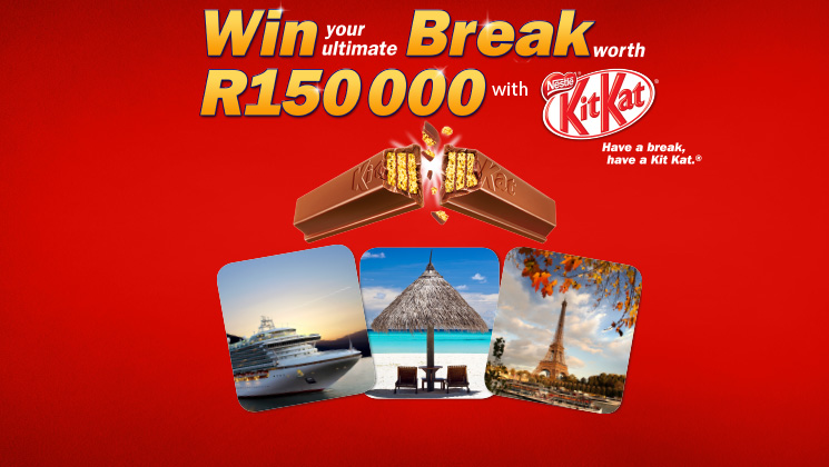 Win your ultimate Break with Nestlé KitKat