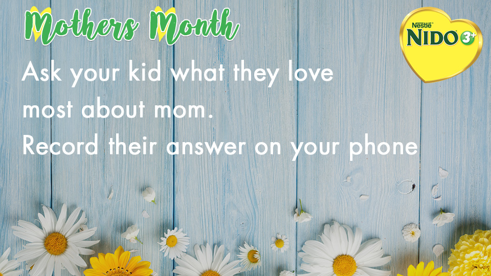 Mothers Month