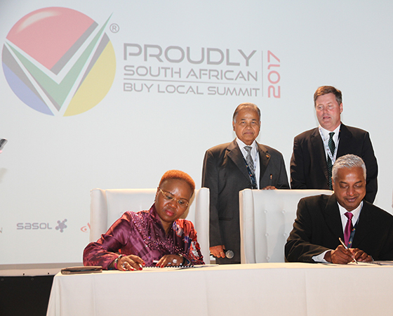 Nestlé South Africa and Department of Small Business Development Sign MOU for Enterprise Development