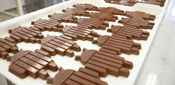Android KitKats in Production