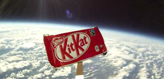 KitKat goes to Space
