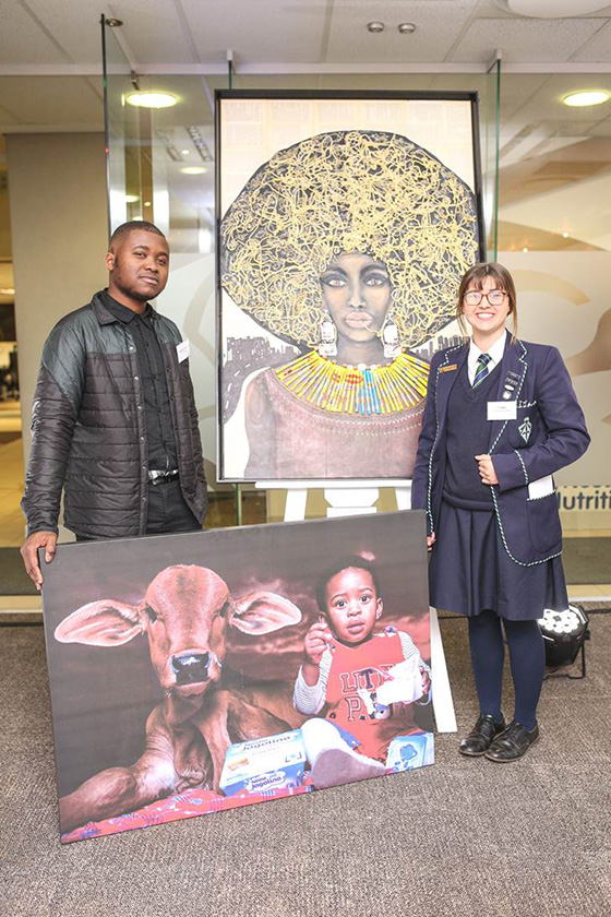 Caitlin Schroder Beneke Nestlé South Africa Centenary Art Project Winner